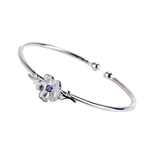 Bracelet Diamonds Sweet (HBOS Sweet Diamond Pink Cherry Blossom Opening Bracelet.)