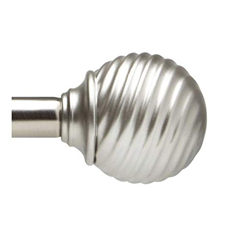 Allegro Sonic 36-Inch - 72-Inch Curtain Rod Set in Polished Nickel