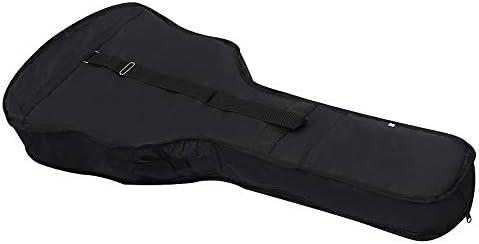 Cikuso 41 Pulgadas Bolsa De Guitarra Bolsa De Hombro De Tela Oxford Estuche Con Piezas Y Accesorios De Guitarra De Bolsillo: Amazon.es: Instrumentos musicales