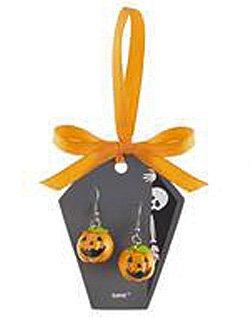 Jack-O-Lantern Eeery-sistable Earrings - By Ganz (20G) ()