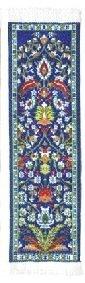 Oriental Carpet Bookmarks Blue Kayseri - Authentic Woven Carpet