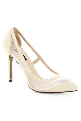 Go Tendance - Zapatos de vestir para mujer Beige