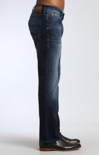 Mavi Men's Zach Regular-Rise Straight-Leg Jeans, Smoke Chelsea, 33W x 30L by Mavi (Image #2)