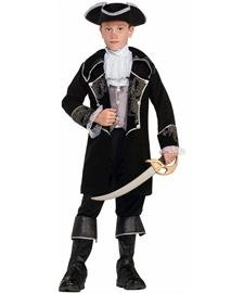 Boys Swashbuckler Costume - Kids Deluxe Swashbuckler Pirate Costume - Child Medium