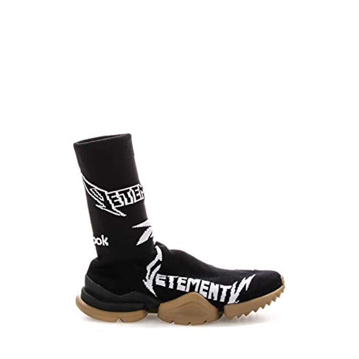 Vetements Hi Top Sneakers Donna Uah19re5blackwhite Poliestere Nero