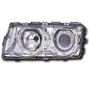 1995-1998 BMW E38 7 Series Chrome Housing Angel Eye Projector Headlights