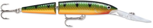 Rapala Jointed Deep Husky Jerk 12 Fishing Lure, Perch, 4-3/4-Inch, Outdoor Stuffs