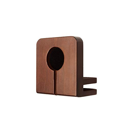 MobileVision Wood Charging Station & Compatible Adapter for Apple Watch Combo Multi Device Organizer for Apple Watch, Smartphones, Tablets, Laptops, and More