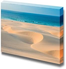 Sand Dunes in Chaves Beach Praia De Chaves in Boavista Cape Verde Wall Decor