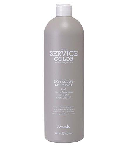 NOOK NO YELLOW THE SERVICE COLOR SILVER SHAMPOO 1000 ml