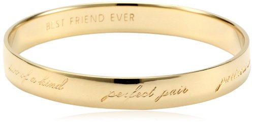 "kate spade new york ""Best Friend Ever"" Bridesmaid Idiom Bangle Bracelet 31bNksePE1L"
