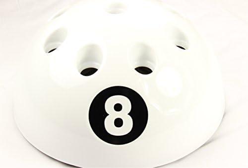 Original gigante blanco 8 Ball billar soporte y accesorio de – con ...