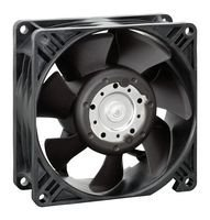 3250J Series IP20 DC 12 V Axial Fan 64 DBA 38.15 mm 158 cu.ft//Min 92 mm