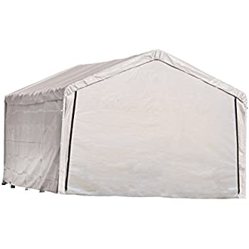 ShelterLogic 12-Feet Super Max Canopy Accessories Enclosure Kit White 12 x 26-Feet  sc 1 st  Amazon.com : 12 x 26 canopy - memphite.com