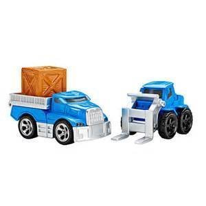 Fisher-Price EZ Play Railway Loading Dock Vehicle Set (Flatbed and Forklift (Fisher Price Train Sets)