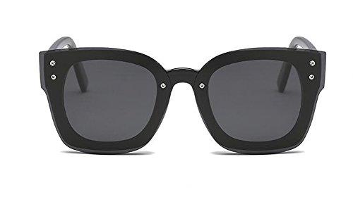 Cercle Noir Femmes Polarisées Inspirées de Métallique du et Lunettes Retro Soleil Rond Style Hommes Pour Frêne en Steampunk qzTZwB