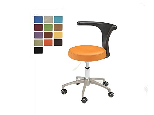 SoHome Dental Microfiber Leather Medical Chair for Dentist Doctor's Mobile Stool Portable Dental Chairs HS-2 - 2 Microfiber Stools