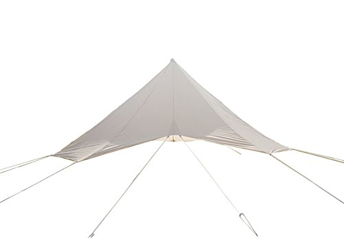 DANCHEL 4-Season Cotton Bell Tents Flying, 4M=13.12ft (Shelter Cloth Cap)