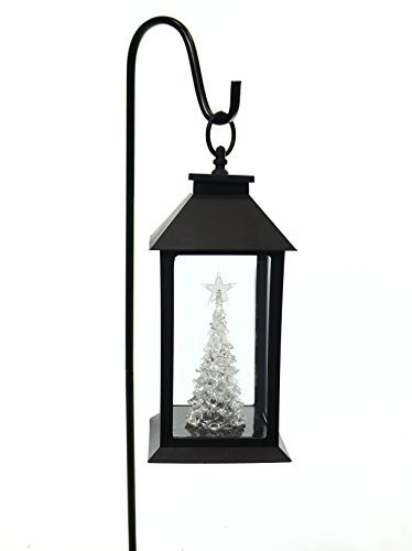 Alpine Corporation Christmas Tree Lantern Stake with Color Changing LED (Christmas Tree Lantern)
