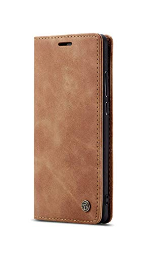 RK Seller Flip Cover for Samsung Galaxy A31 Ultra Case Cover Leather Magnetic Flip with Back Stand (Brown)-1