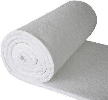 Ceramic Fiber Blanket, 8 Lb density 2'' x 25'' x 12.5' Roll by BRB Products