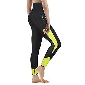 ce08a75df6 Wonderience Women Neoprene Sauna Slimming Pants Hot Thermo Sweat Body Shaper  Capri