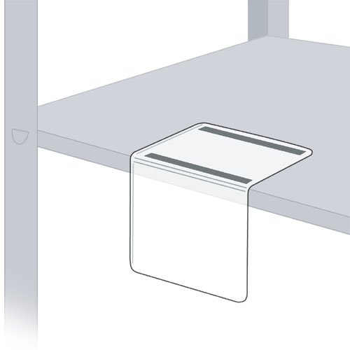 StoreSMART - Bookshelf & Warehouse Tag / Label Holders - 3'' x 5'' - Magnetic Flap - 25-Pack - SPC1932M-25