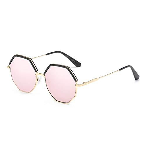 Lunettes Couleur Soleil Femmes de Lunettes Mode Soleil Pink la polarisées à Pink Bambou Lunettes pour UrxUw