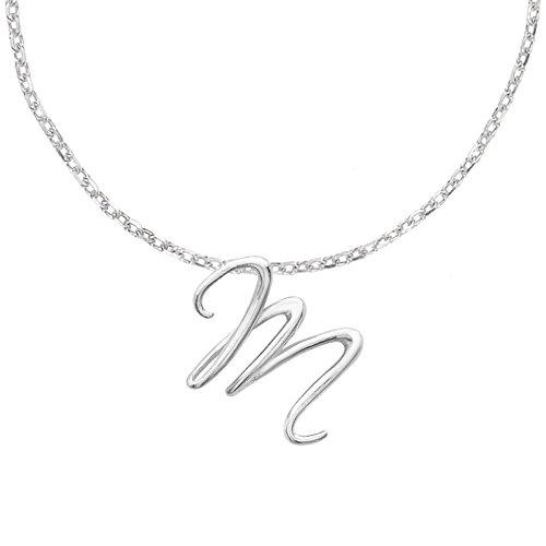 Dower & Hall - LLP-S-M - Collier Femme - Argent 925/1000 5.4 Gr - Verre