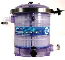 Nu-Clear 530 Canister Filter - 30 sq. ft. 25 Micron Mechanical Filter