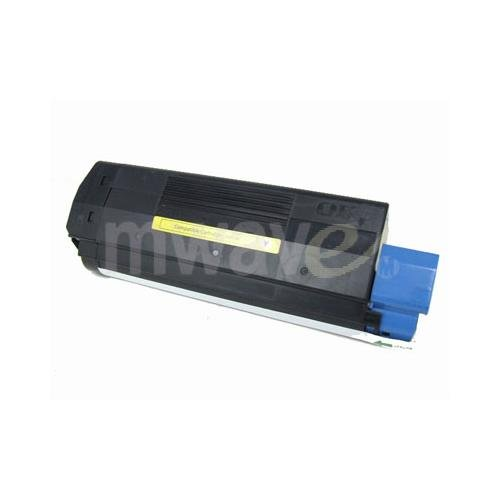 C3100 Yellow Toner - 43034801 Type C6 Yellow Compatible Toner Cartridge for Oki C3100 Oki C3200 Oki C3200n