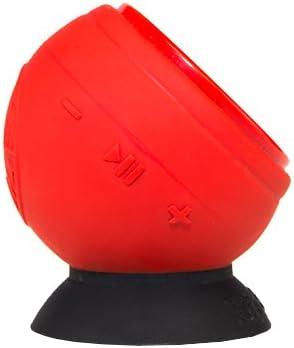 Speaqua Barnacle Plus Waterproof Bluetooth Speaker with 4 GB Memory – Snapper Red Ryan Callinan