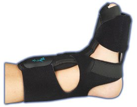 Med Spec Phantom Dorsal Night Splint, Black, X-Large by Medspec/ASO Braces