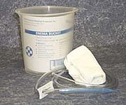 (Kendall Kendall Plastic Bucket Style Enema With Supplies - Model 145546)