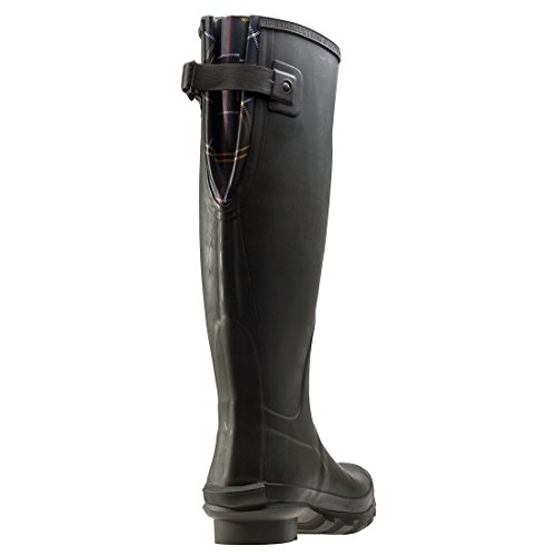 Jarrow Calf Barbour Wellington Olive Snow Womens Dark Waterproof Winter Mid Boots Rwxn5Sqw7