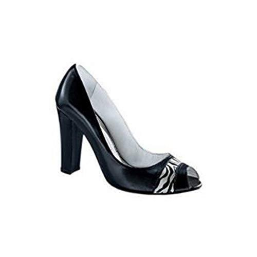 Madan Nero Sneaker Singh S Peeptoe Donna 5qwn8n1R