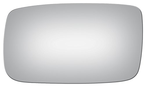 Burco 2852 Flat Driver Side Replacement Mirror Glass for Volvo 240, 940, 960, S90, V90 (1991, 1992, 1993, 1994, 1995, 1996, 1997, 1998)