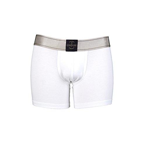 RJ The Good Life Sweatproof Herren Boxershorts sind die Lösung bei übermäßiger Transpiration weiß S ( Taile 71 - 74 cm)