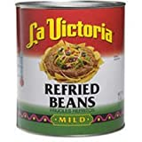 La Victoria Refried Bean - no. 10 can, 6 cans per case