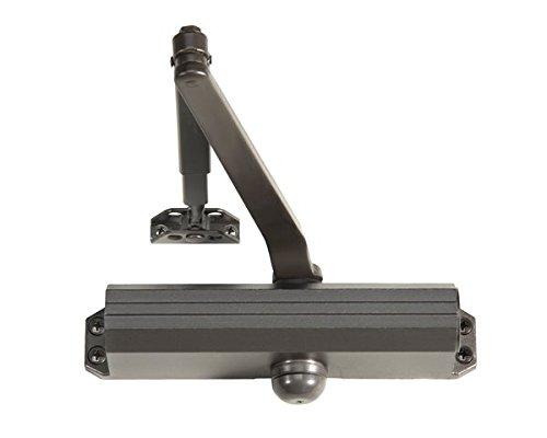 Norton 1601 690 1601 Series Adjustable Door Closure, Tri-Style, Aluminum, Non Handed, 12.3'' x 5.1'' x 3.6'', 1 Unit