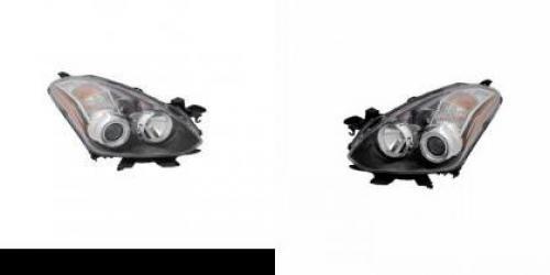 8320 Lens (Go-Parts PAIR/SET - Compatible 2010-2013 Nissan Altima Front Headlights Assemblies Housing/Lens/Cover - Left & Right (Driver & Passenger) Side - (Coupe) Replacement For Nissan Altima)