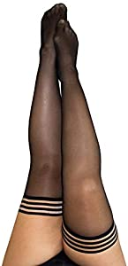 Kix`ies Thigh Highs Stockings Hold Up Nylon Pantyhose