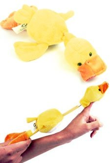 Playmaker Toys Flingshot Flying Duck, Yellow