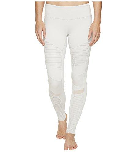 ALO Women's Moto Leggings Mist/Mist Glossy Pants -  W5434R-035