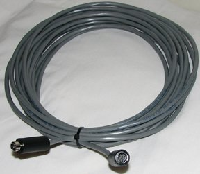 150' VISCA Daisy Chain Cable VISCA RS232 Cable for Sony EVI/BRC/SRG Series Cameras (8 Pin Mini Din to 8 Pin Mini Din)
