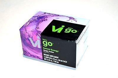 ViSalus GO Instant Energy Drinks {12 Servings, Grape-Berry}