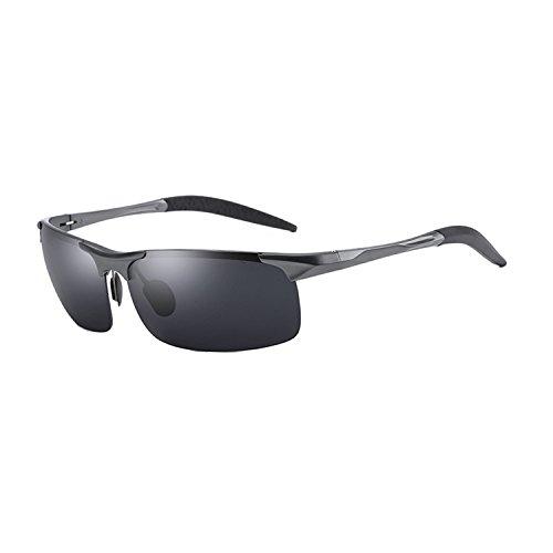 Anmery Mens Sports Polarized Sunglasses 100% UV protection Lens Sturdy Frame Ultra Light (Metallic Sport Sunglasses)