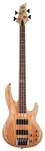 Bass Guitar Natural Satin (ESP LTD B-204SM NS Spalted Maple Bass Guitar, Natural Satin)