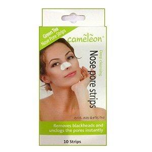 Cameleon Green Tea Nose Pore Strips / Blackhead Removel (10 Strips)