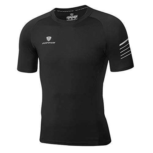 Kekebest 2019 Summer Trendy Popular Top for Men,Blouse T-Shirts Vest Sports Fitness Fast Dry Clothes Sports Short Sleeves Quick Dry Workout Athletic Running Training Active Sportswear ()